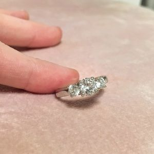 Size 6.5 Diamond Ring
